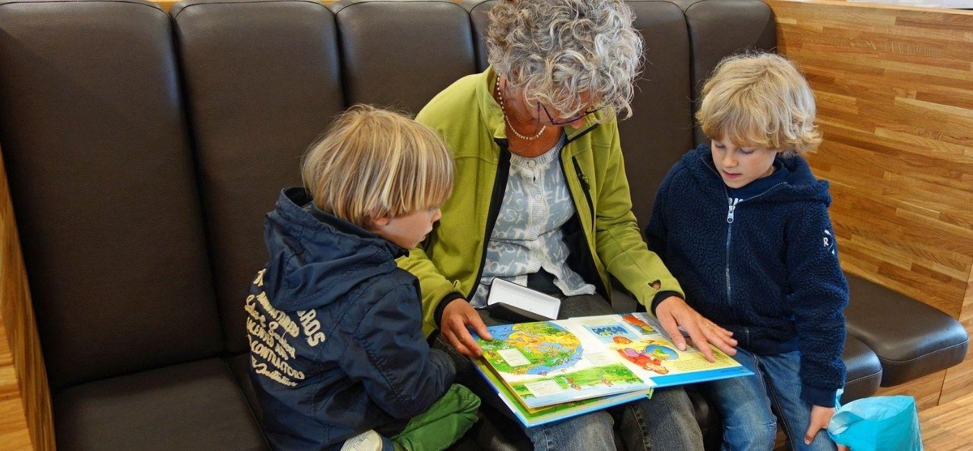 Relación abuelos y nietos